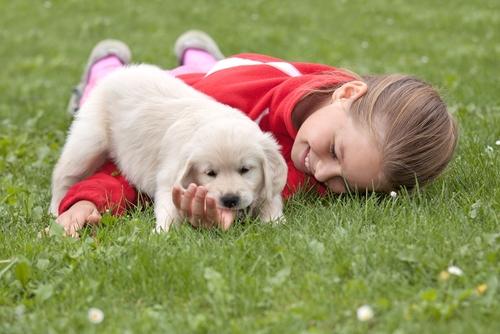 Bambini e cuccioli: insegnate loro come trattarli