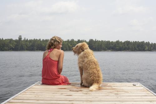 telepatia tra ragazza e il suo cane