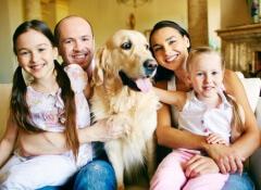 cane-con-famiglia