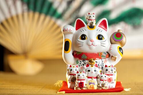 Conoscete il Maneki-Neko, gatto della fortuna?