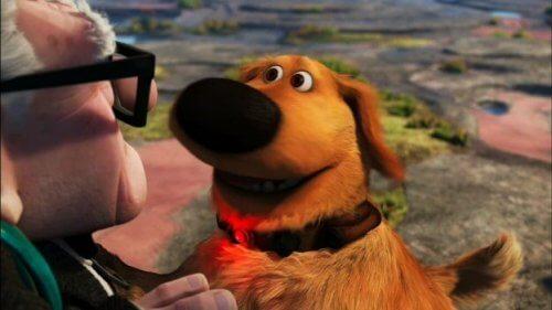 """Il famoso cane Dug del cartone animato """"Up"""" diventa reale"""