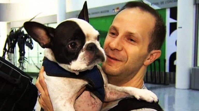 Un pilota d'aereo salva la vita a un cane