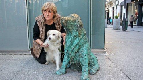 Monumento al cane abbandonato in Galizia