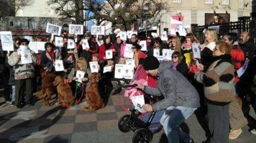 Grande marcia in difesa dei diritti degli animali