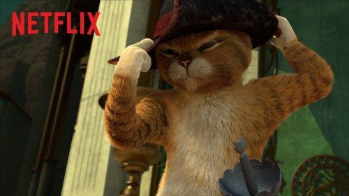 Il gatto di Shrek ha una serie su Netflix