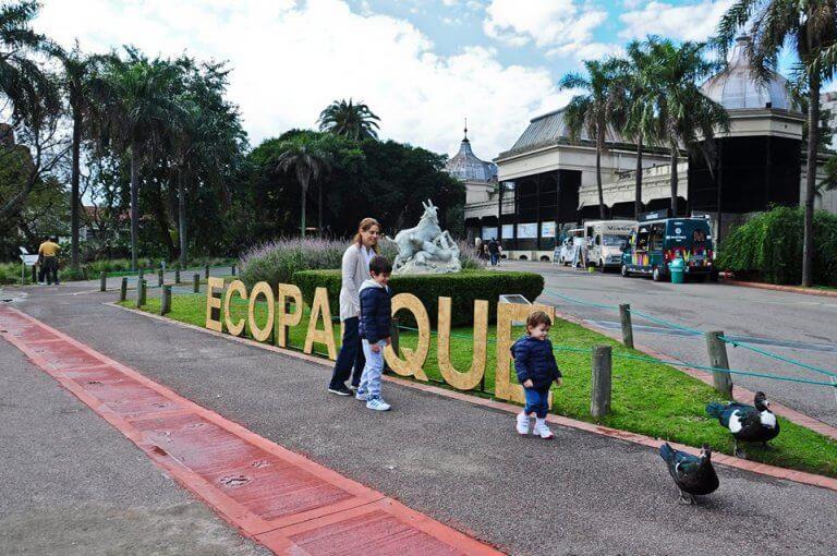 nuova facciata ecoparco di Buenos aires