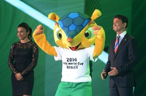 Mascotte Fuleco dei mondiali in Brasile