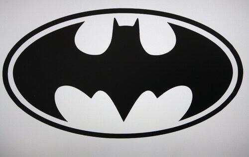 Simbolo di Batman, l'uomo pipistrello