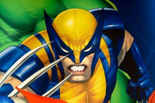 il supereroe della Marvel, Wolverine
