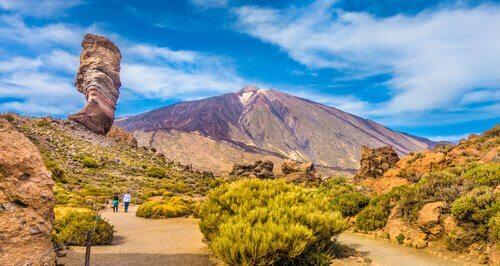 Vista del vulcano Teide a Tenerife