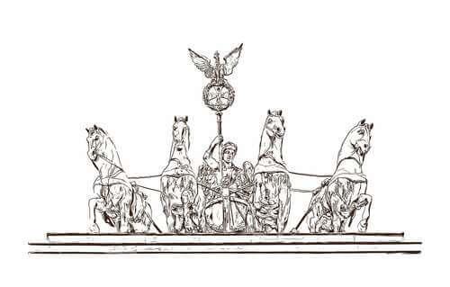Cavalli antica Roma