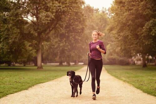 Attività fisica con il cane