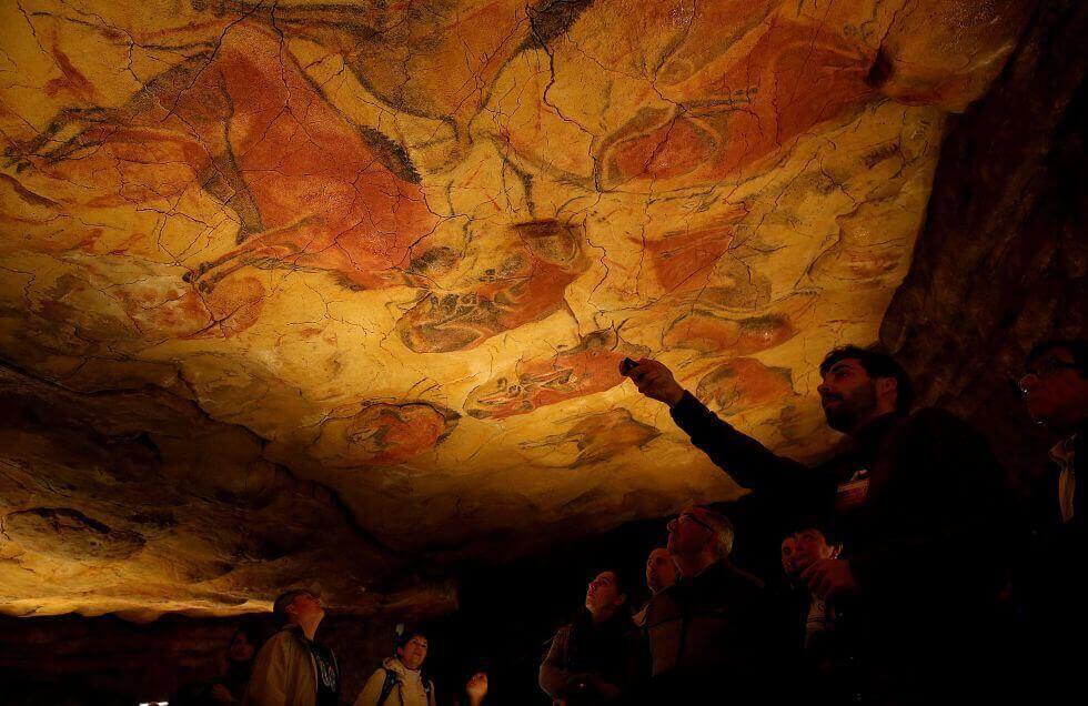 Animali rappresentati sul tetto della grotta di Altamira