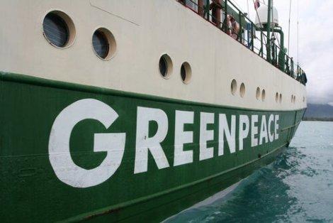 Nave di Greenpeace