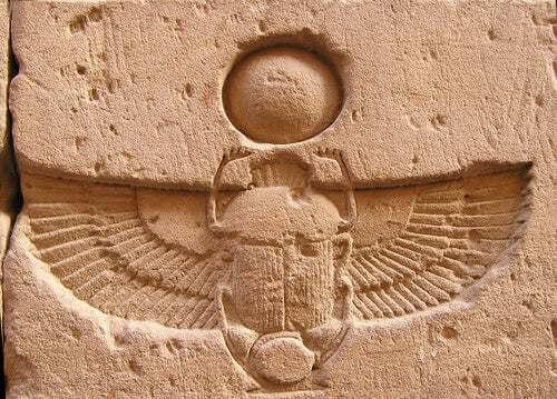 Scarabeo antico Egitto