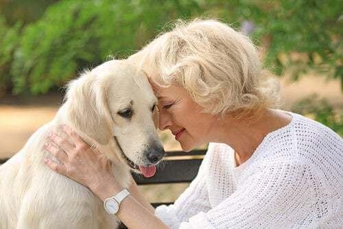 I benefici di avere un animale domestico per gli anziani