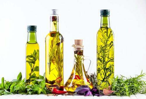 Olio d'oliva alle erbe