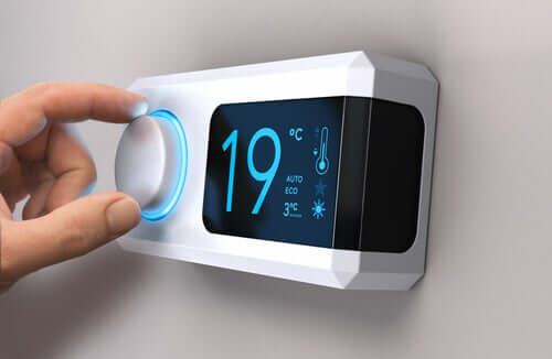 Termostato di casa ed effetti della temperatura sui virus