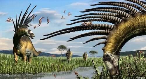 Rinvenuti in Patagonia i resti di dinosauri con spine giganti