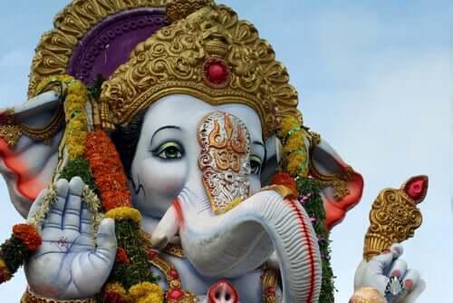 Statua di Ganesh.