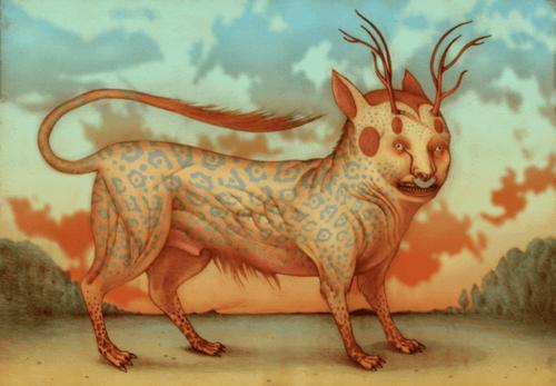 Illustrazione del Nahual.