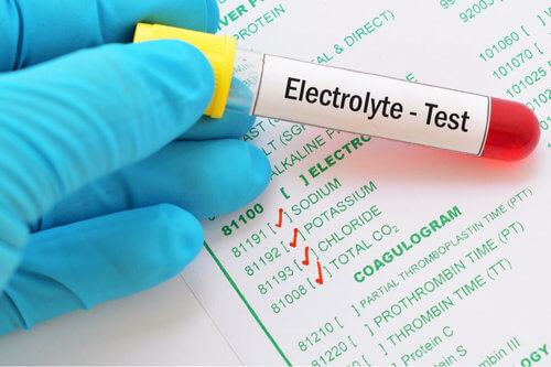 Test squilibrio elettrolitico